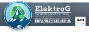 ElektroG Informationen BVOH